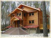 Строительство загородных домов из дерева