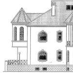 Фрагмент чертежа фасада