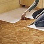 Укладка виниловой плитки