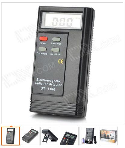 Детектор электромагнитного поля с ж/к дисплеем
