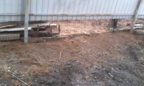 Забор без бетонного бортика